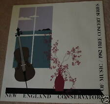"""Vintage Artwor Reproduction Print CONSERVATORY OF MUSIC 31""""X 30"""" Unsigned1982"""