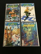 Aquaman Vol.8  # 1 x 4 covers variant - Rebirth- DC Comics