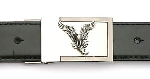 Osprey Design Belt Buckle and Leather Belt in Gift Tin Ideal Falconry 251