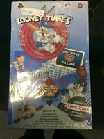 Upper Deck Looney Tunes Comic Ball Cards Series 1 Sealed Wax Box - Fast Shipping