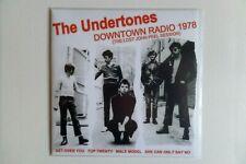 "THE UNDERTONES downtown radio 7"" EP kbd punk collectors limited EX EX"