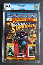 SUPERMAN GIANT #7 Walmart Green Lantern Batman 2018 DEATH LOIS LANE CGC NM+ 9.6