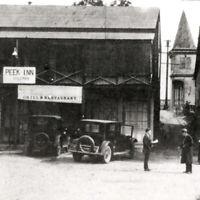 Vintage 1920s RPPC Peek Inn Grill Restaurant Mokelumne Hill Calaveras County CA