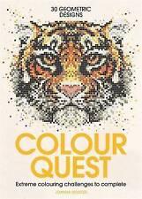 Libro en rústica libros de Colorante Color Quest por Bestseller Autor Joanna Webster