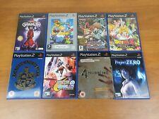 Project Zero, Dragon Ball Z, Resident Evil 4, Grandia 2, Capcom VS SNK2 PS2 PS3