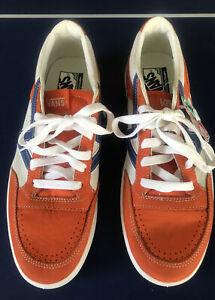 Vans Lowland ComfyCush Size 12 Orange No Box