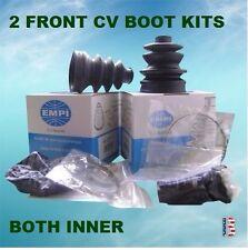 2 ATV CV Boot Kit 2371 FIT 2000-2006 HONDA TRX 350 RANCHER 4X4 FRONT INNER