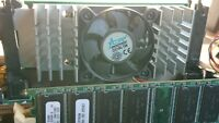 Acorp 6BX86 Ver: 1.2 440BX ATX Slot 1 Motherboard 2 ISA PCI AGP With CPU and RAM