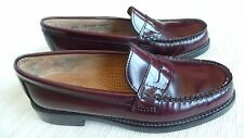 G H Bass Weejuns Women's Shoe Leather Penny Loafer  Sz 6.5M  Burgandy
