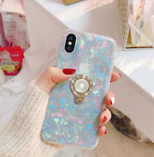 LG Stylo 4 / Q Stylus Shockproof Bling Glitter Clear Rubber TPU Phone Case Cover