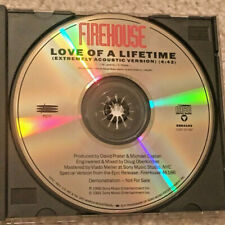 Firehouse Extremely Acoustic Love Of A Lifetime 1trk Promo Only Radio Dj Cd 1991