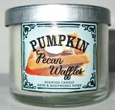 Bath & and Body Works Home 1.3 oz 10 hrs Mini Candle Pumpkin Pecan Waffles
