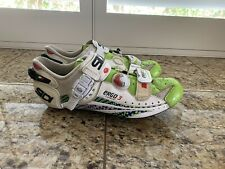Sidi ERGO 3 LIQUIGAS VENTED CARBON VERNICE SPEEDPLAY ROAD SHOE. PLEASE READ.