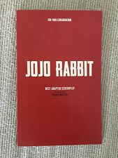 Jojo Rabbit Jo Jo Best Original Screenplay Oscar FYC Waititi Rockwell Wilson