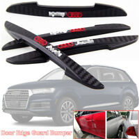 4pcs For Audi Q7 Car Side Door Edge Guard Bumper Trim Protector PVC Sticker