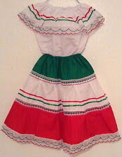 Colored-Mexican Elastic GIRL Dress Skirt & Blouse  for any Mexican Ocassion-DT#4