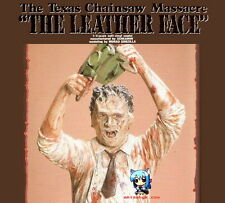 Movie Horror Texas Chainsaw The Leather Face 1/4 Figure Vinyl Model Kit