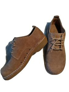 Mens leather desert boots size 7