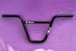 "SHADOW CONSPIRACY VULTUS SG BMX BIKE BARS 11"" CULT SUBROSA SE HARO GT BLACK NEW"