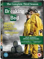 Breaking Bad Season 3 DVD - Complete Series 3 - Brand New (Box Set)