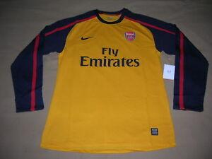 Arsenal London Soccer Jersey Nike Football Shirt Player Issue Gunners Trikot NEW
