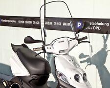 Windschild mit Montagematerial Universal für Roller Scooter Mofa Quad GY6 4 Takt