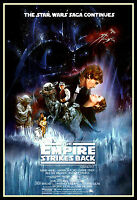 Star Wars Empire Strikes Back FRIDGE MAGNET 6x8 Movie Poster Magnetic Canvas
