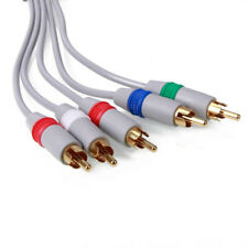 HD Component AV Adapter Video Audio Cable Cord for PS2 Slim WII WIIU 1.8 Meter