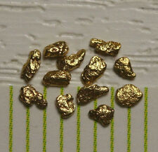 12 Goldnuggets Gold Nuggets aus USA Alaska!