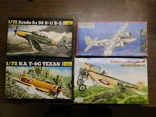 Heller 1/72 model aircraft lot #8 of 4 kits complete in boxes.