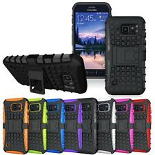 Shockproof Hybrid Heavy Duty Armor Box Stand Case Cover For Apple iPhone Samsung