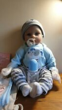 Yesteria Reborn Doll Blue Eyes With Clothing & Accessories Inc Bottle #GIK