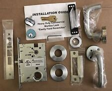Mortise Lock Complete Set ML9453 Entry Lock With Deadbolt Heavy Duty Commercial