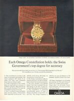 1971 Original Advertising' American Vintage Omega Watch Constellation Chrono