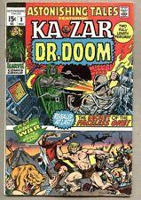 Astonishing Tales #3-1970 fn Ka-Zar Doctor Doom