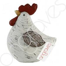 Small Sitting Rooster Chicken Ornament Cute Bird Gift Home Decor