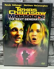 New ListingTexas Chainsaw Massacre The Next Generation 1997 Dvd Oop Matthew McConaughey