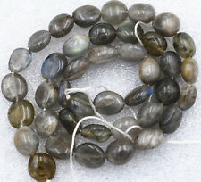Beautiful 8x10mm Labradorite Irregular Shapes Gemstone Loose Beads 15""
