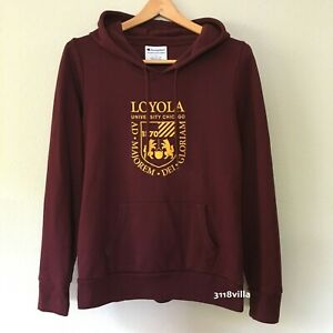 Loyola University Chicago Women's Victory Springs Hooded Sweatshirt size Large