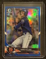 Jarred Kelenic 2018 Bowman Draft Chrome Refractor Blue Parallel /150 #BDC-6 Mets