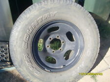 LANDCRUISER 80 FACTORY STEEL WHEEL 16X8 WITH TYRE