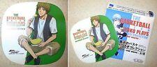 Kuroko's Basketball Kutsurogi Half Pop White Reusable Sticker Kyoshi Miyaji New