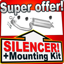 Rear Silencer TOYOTA AVENSIS 2.0 D-4D Exhaust Box ALL