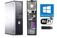 Dell OptiPlex SFF or DT PC Windows 10 Dual Core 2GB 90 DAY WARRANTY WiFi ready