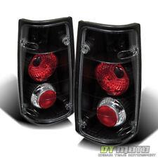 91-97 Isuzu Rodeo 89-94 Amigo Pickup Black Altezza Tail Lamps Left+Right Pair