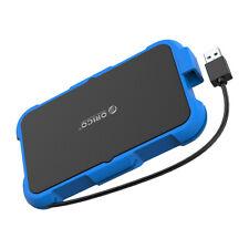 "ORICO 2.5"" Inch USB 3.0 SATA III SSD Hard Drive Enclosure Caddy Case Waterproof"