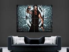 WWE reigns wrestling mur Poster Art Photo Impression Grand énorme