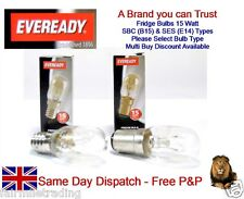 Eveready Branded 15w Fridge Lamp Light Bulb 240v SES E14 SBC B15 Sewing Machines