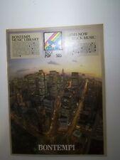 Bontempi Music Library Rock Pop 505 Spartiti - 1979