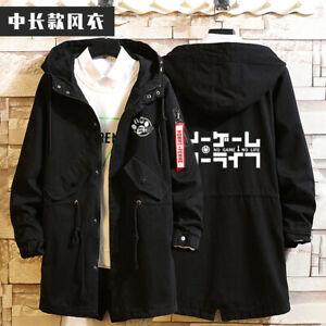 No Game No Life Anime Cosplay Unisex Hoodie Jacket Sweatshirt Autumn Greatcoat